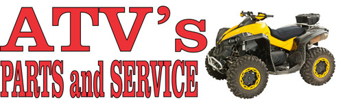 ATV's Parts and Service Auto Repair Banner.