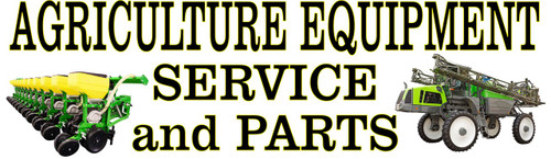 Agriculture Equipment Service & Parts Banner.