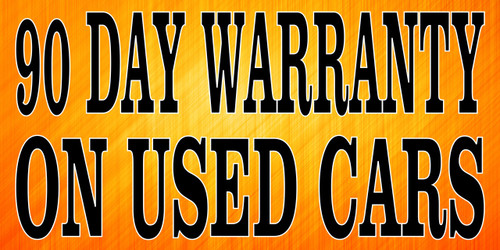 Auto Banner 90 Day Warranty On Used Cars