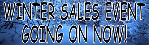 Winter Sales Event Going On Now Auto Sales Banner