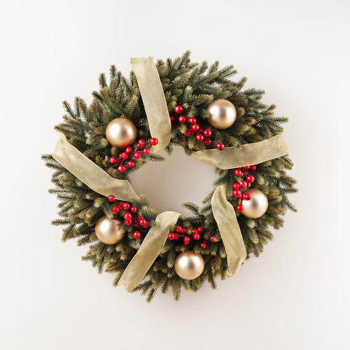 Christmas Wreath Image .