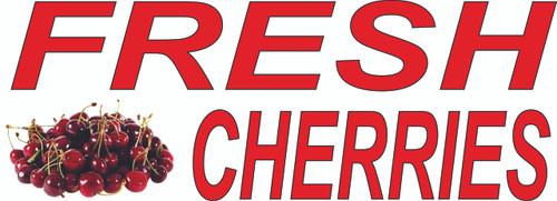 Fresh Cherries Banner