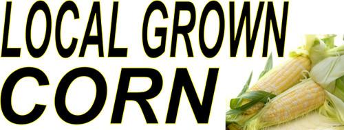 Local Grown Corn Banner