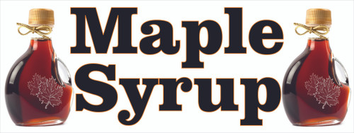 Maple Syrup Specialty Banner.