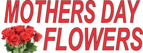 Mothers Day Flowers Banner.