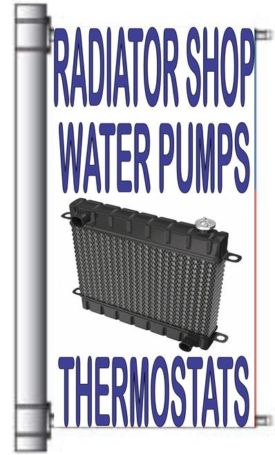 Radiator Shop Water Pumps Light Pole Banners