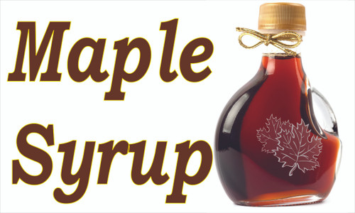 Produce Banner - Maple Syrup.