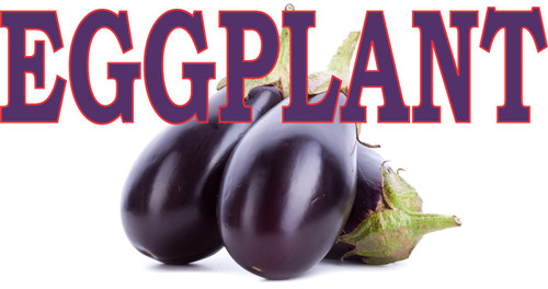 Eggplant Banner with its Vivid Color Stand out & Brings in Customers.