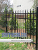 Black Residential Asheville Aluminum Fencing From ShopFencing.com