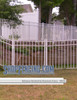 White Residential Belhaven Aluminum Fencing From ShopFencing.com