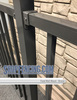 Bronze Aluminum Fence Fixed Wall Mount