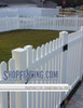 Vinyl Picket Fence Sections from Shopfencing.com