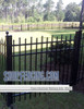 Black Drexel Aluminum Walkway Gate