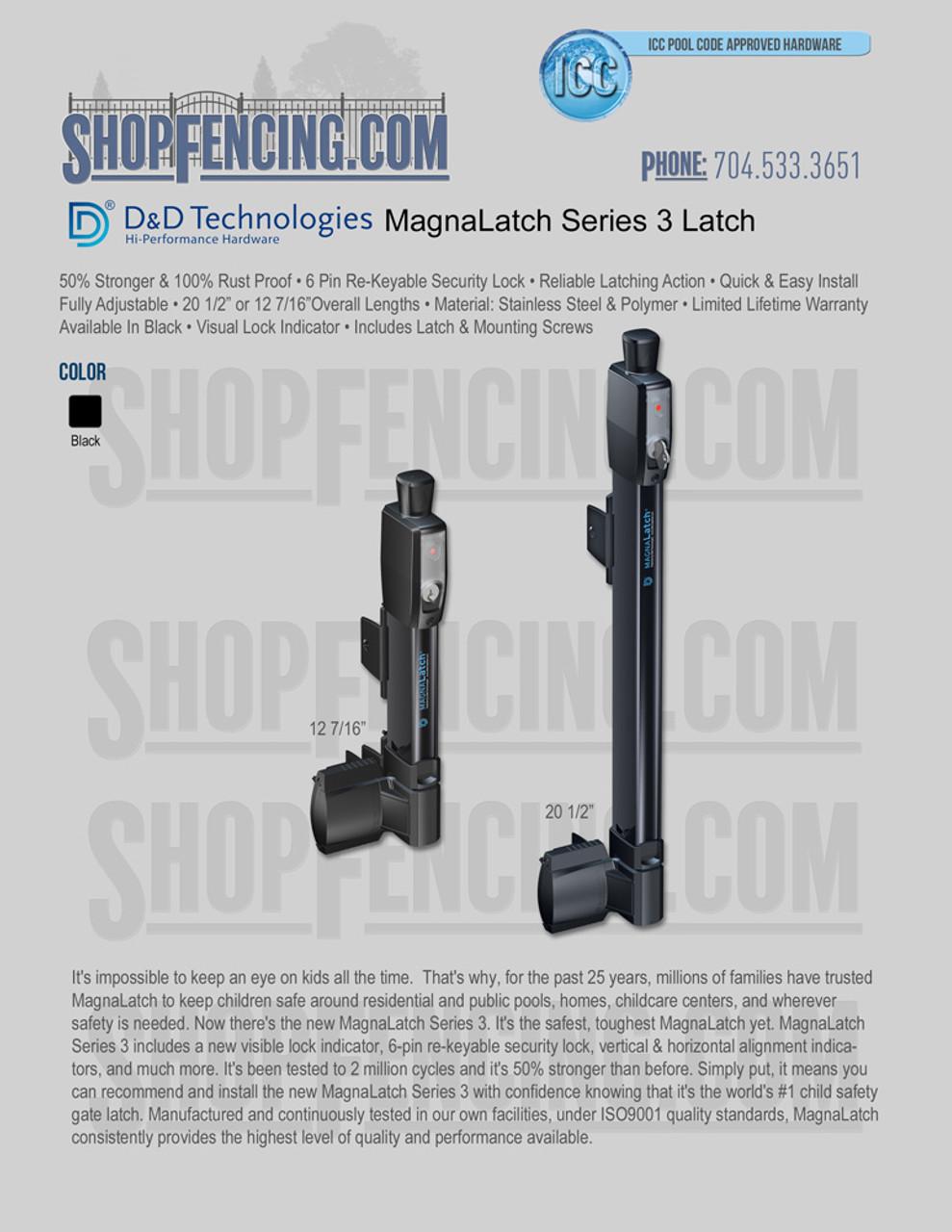 D&D Technologies Series 3 MagnaLatch