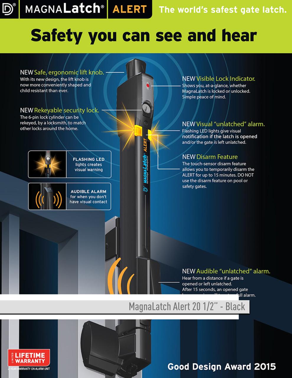 D&D Technologies MagnaLatch Alert