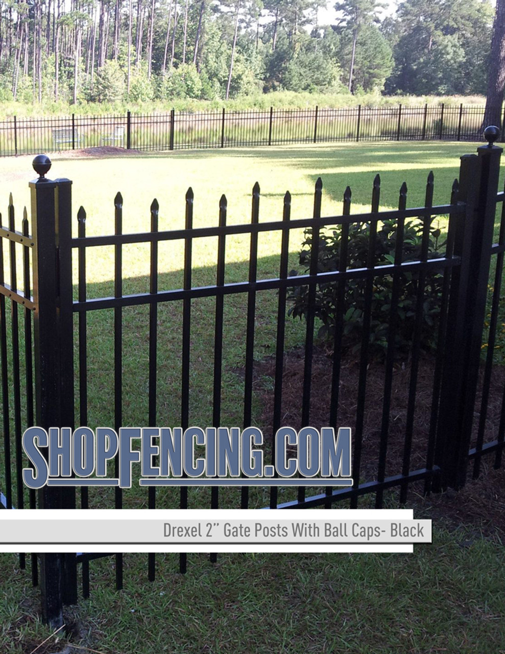 Aluminum Fence Posts For DREXEL Fence Styles