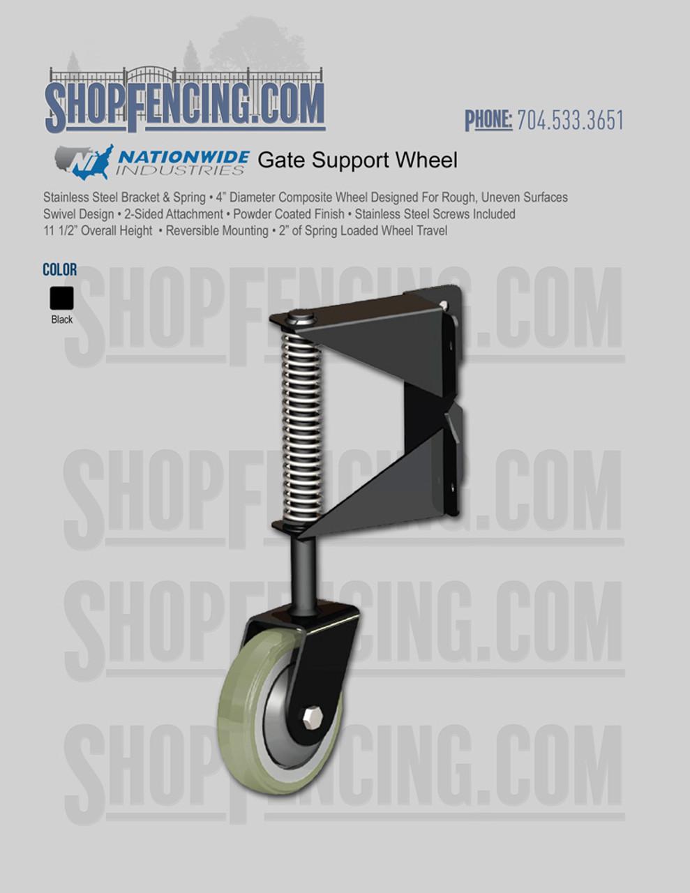 Gate Support Wheel