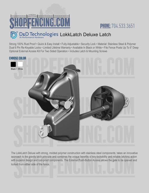 D&D Technologies LokkLatch Deluxe