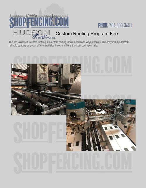 Custom Routing Program Fee