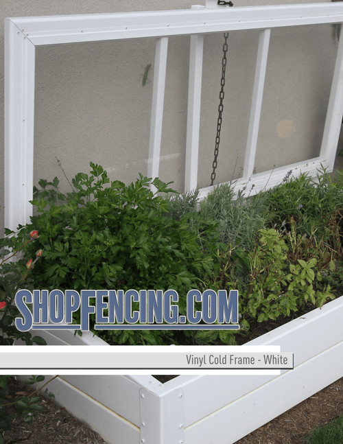 Vinyl Cold Frames From ShopFencing.com