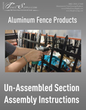 Fence Section Assembly Instructions