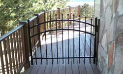 Style A Aluminum Gate