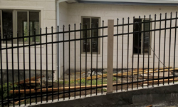 Style A Aluminum Fence