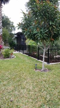 Style B Aluminum Fence
