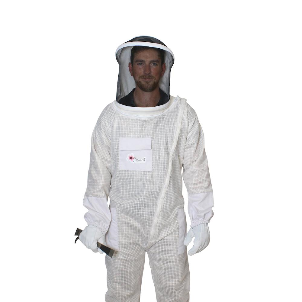Mesh-Ventilated Suit