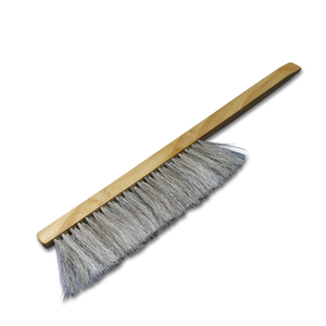 Bee Brush - Wooden Handle, Horse Hair Bristles