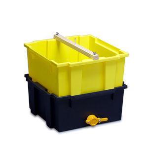 Uncapping Unit 2-Tub with Honey Gate (without Stand)