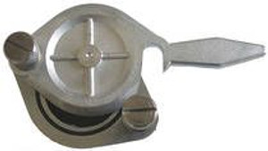 "Honey Gate Nickel Plated Brass - 2"" (50mm)"