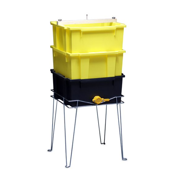 3-Tub Uncapping Stand