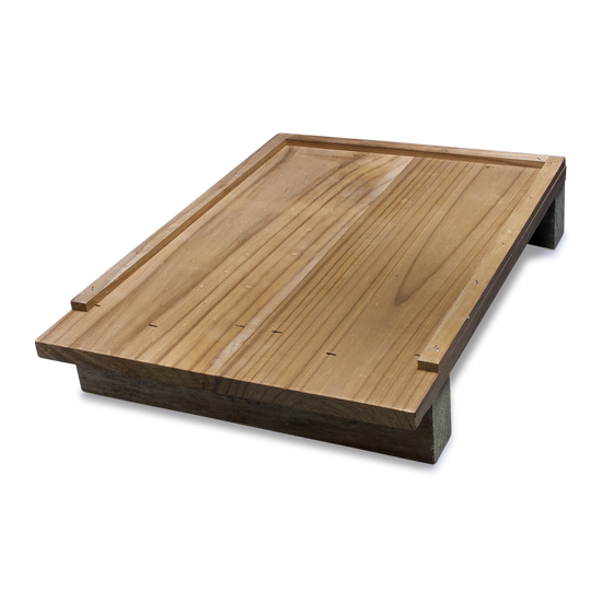 10-Frame Hive Floor - ThermoWood (Assembled)