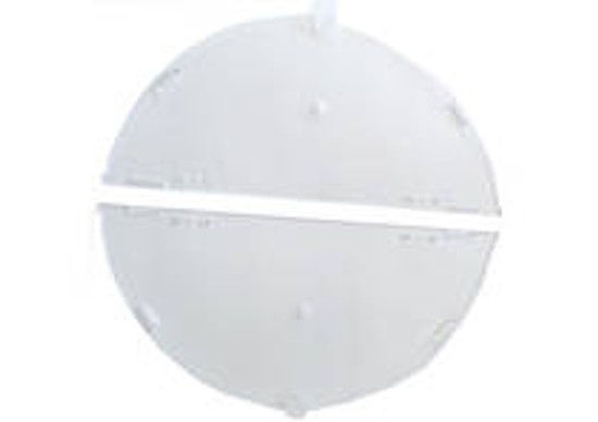 Plastic Covers for 4-Frame Extractor Non-Rev - Per Pair