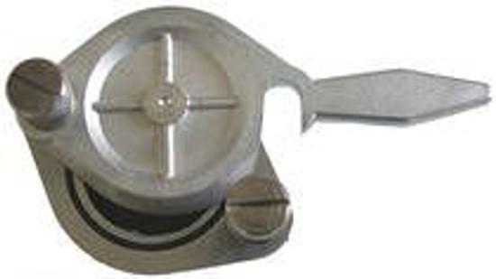 """Honey Gate Nickel Plated Brass - 2"""" (50mm)"""