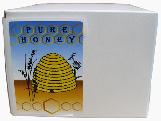 Pure Honey Labels - 250 Per Box
