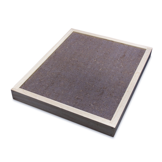 10-Frame Hive Mat 50mm Wooden Rim - Weathertex