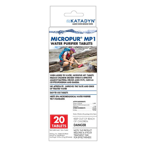 Micropur MP1 Purification Tablets