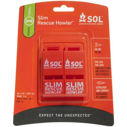 SOL Slim Rescue Howler - 2 Pack
