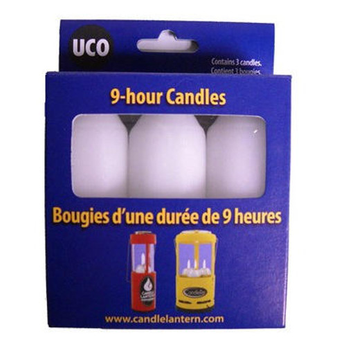 9 Hour Candles (3 Pack)
