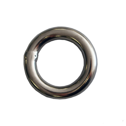 Stainless Steel 10mm Rap Ring