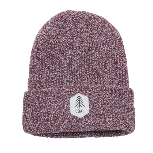 The Scout Heathered Knit Cuff Beanie - Burgundy