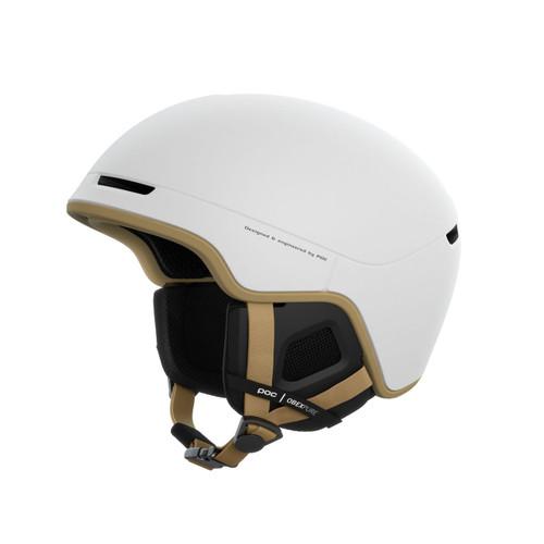 POC Obex Pure Helmet - Hydrogen White / Aragonite Brown Matt