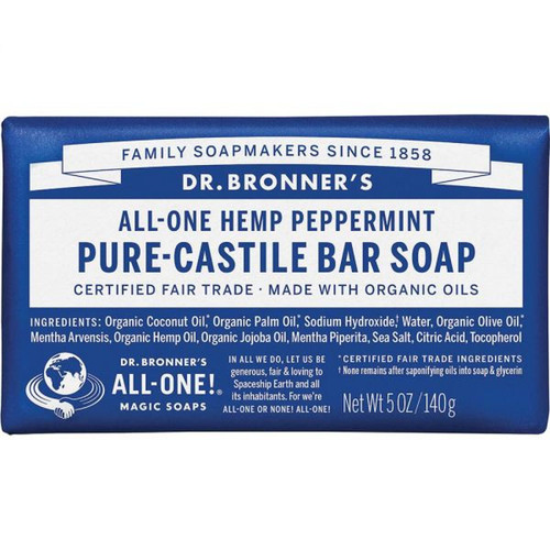 Dr. Bronner's Soap Bar - Peppermint