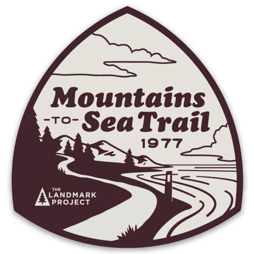 Mountains-to-Sea Sticker
