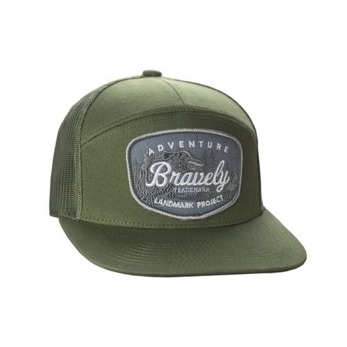 Adventure Bravely 7 Panel Hat