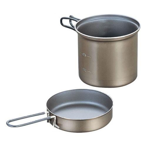 Ti Non-Stick Deep Pot w/ Fry Pan Lid