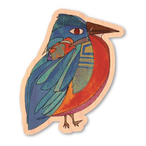 Wood Sticker - Eastern Bluebird