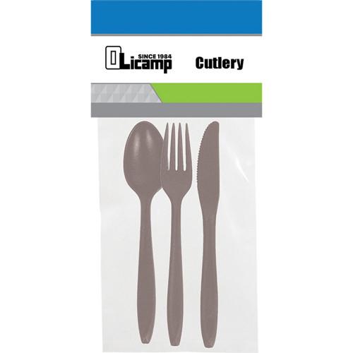 3 Piece Cutlery - Smoke
